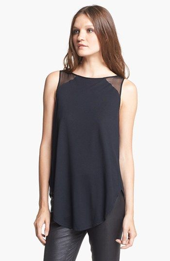 Haute Hippie Open Back Top available. Love the open draped back.