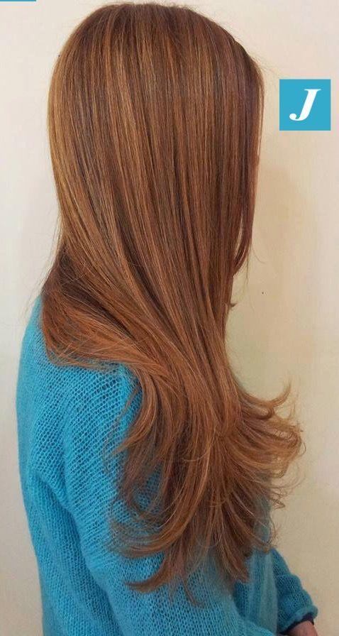 Il Degradé Joelle rispetta la texture dei vostri capelli.