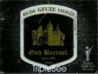 Label van Oude Geuze Oud Beersel