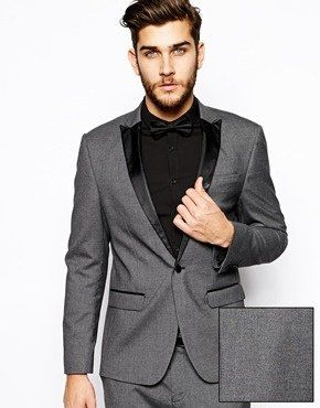 f0d11cf95f64 Image result for grey suit black shirt black bow tie | Wedding Groom ...