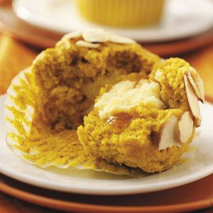 Pumpkin Surprise Muffins Recipe from Taste of Home
