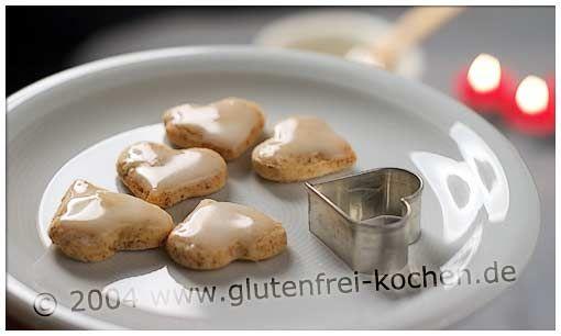 Zitronenherzen - Glutenfrei Backen und Kochen bei Zöliakie. Glutenfreie Rezepte, laktosefreie Rezepte, glutenfreies Brot