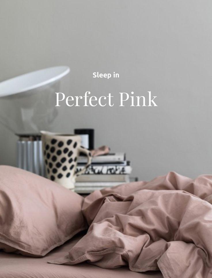 Sängkläder för barn och vuxna i krispig, ekologisk bomull.