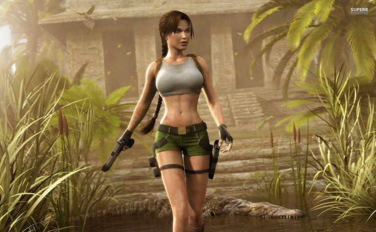 Lara Croft HD Wallpaper
