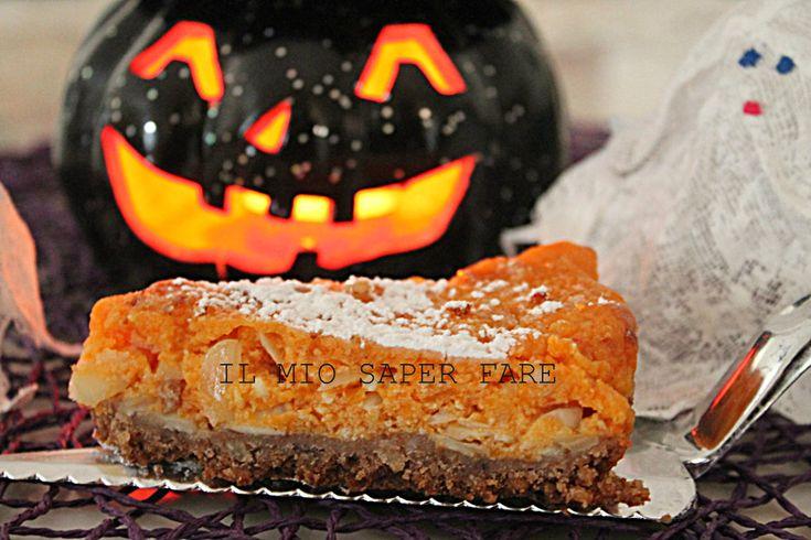 cheesecake alla zucca ricetta Halloween IL MIO SAPER FARE