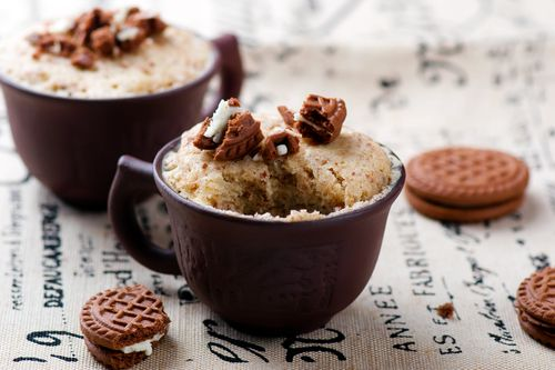 MugCake fitness recept