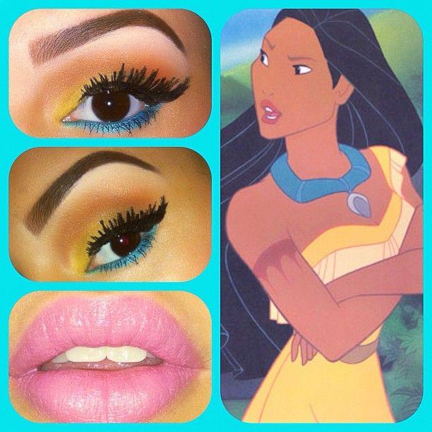 Pocahontas eyes!! Cute.