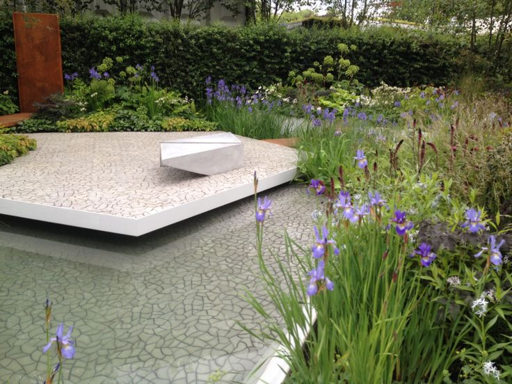 RBC Waterscape Garden at the Royal Horticultural Society 101st Chelsea Flower Show