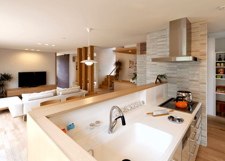 住友林業モデルハウス:キッチン