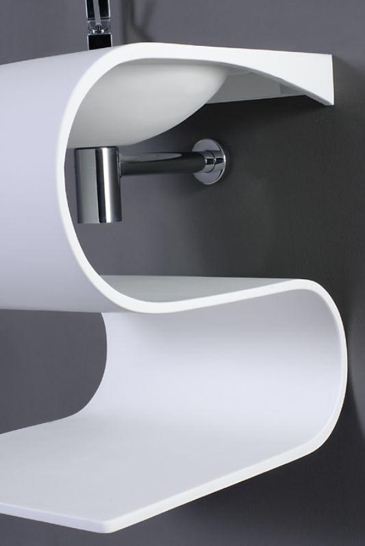 ultra modern sink with contemporary design senolo io by tendadorica home design inspiration - Modern Design Bathrooms 2010