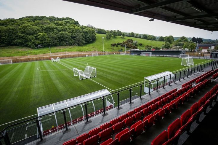 Image copyright                  Ceri Oakes/Scarborough Borough Council             Image caption                                      Scarborough Athletic FC is due to play its first game at its home ground in front of a sell-out crowd of 2,000                               A...
