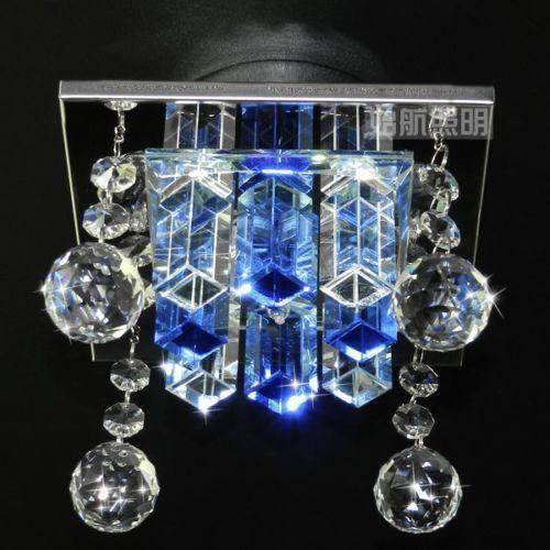 LED Ceiling Light Modern Crystal Pendant Lamp Fixture Lighting Chandelier
