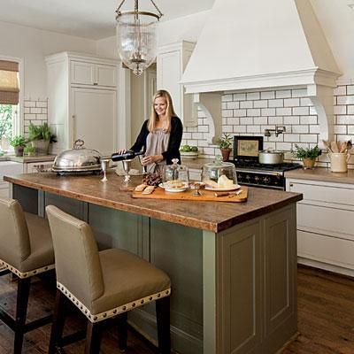 Large Butcher Block Island Stylish Kitchen Island Ideas