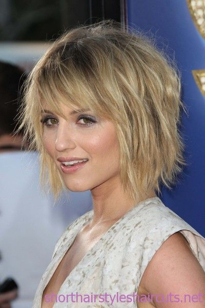 easy care hairstyles | The young girls prefer short hairs but with some messy look. Here are ...