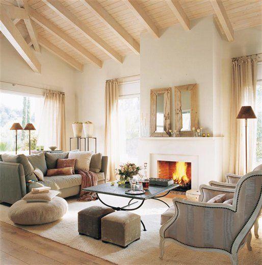 17 mejores ideas sobre revista country living en pinterest - El mueble chimeneas ...