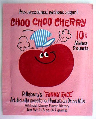 """""""Funny Face"""" drink mixes"""