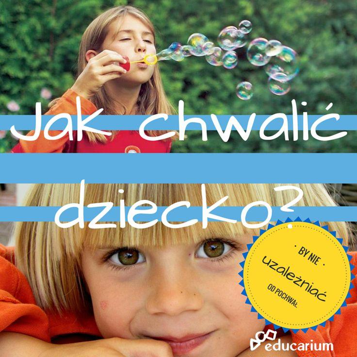 """""""Świetnie!"""", """"Super"""", """"Bardzo ładnie"""", """"Brawo"""". Oto kilka naszych propozycji chwalenia dzieci nieco inaczej, do powieszenia na lodówce ;) POBIERZ PLAKAT w naszym portalu edukacyjnym http://www.educarium.pl/index.php/praktyczne-karty-do-pobrania-menu-z-praktyki-56/447-jak-chwali-dziecko1.html"""