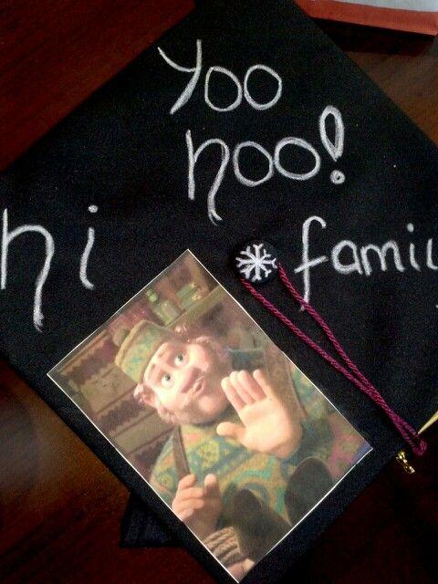 My Frozen themed graduation cap!