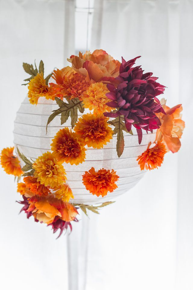 Fall-Inspired Paper Lantern Tutorial | eHow