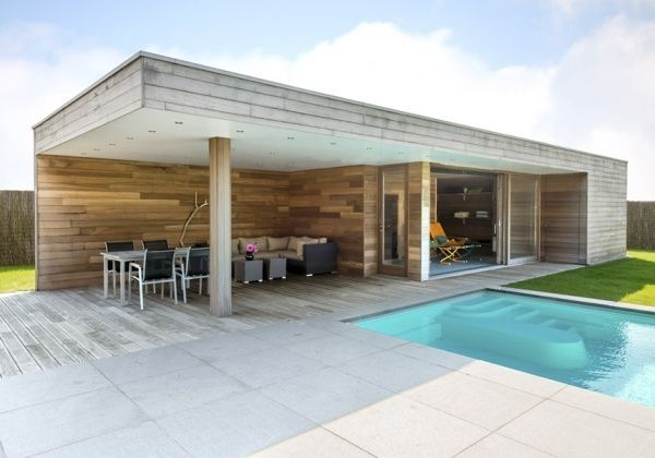 17 beste idee n over tuinhuizen op pinterest pottenbakloodsen fee n tuin en sprookjeshuizen - Modern overdekt terras ...