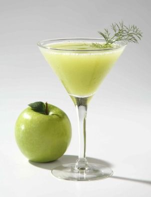 Apple Mezcaltini    2 oz mezcal (Zignum Silver recommended)  2 oz DeKuyper Sour Apple Pucker schnapps    Directions: Place ice in cocktail shaker; add mezcal and schnapps. Shake vigorously. Serve mix in cold martini glass. Decorate with dill leaves.