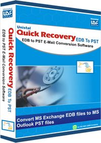 Successful migration of lost or corrupted edb files into accessible ps files with Unistal EDB to PST Converter tool. The demo is available.