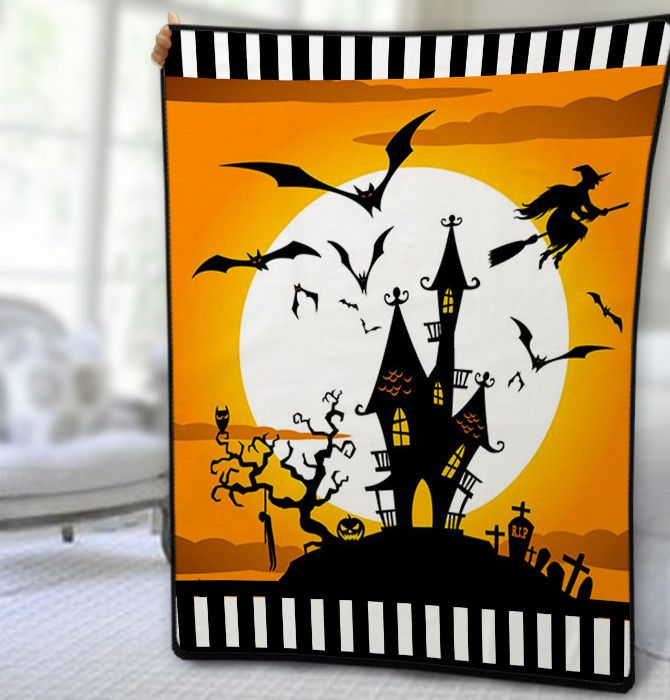 http://thepodomoro.com/collections/blanket/products/halloween-castle-blanket-quilt-fleece-blanket-large-size-medium-size-small-size