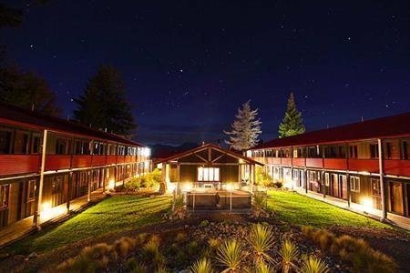 The Park Hotel, Ruapehu - evening