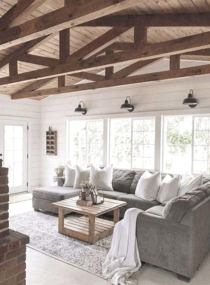 101 Best Farmhouse Living Room Decoration Ideas #Farmhouse #LivingRoomDecor