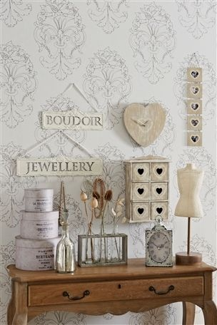 Take inspiration from the French this Autumn Winter 2012 with shabby chic clocks, distressed wood and battered signage - all available from Next, Eldon Square - prices start from £8