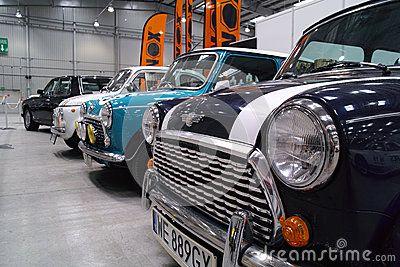 Europese klassieke auto s Redactionele Afbeelding