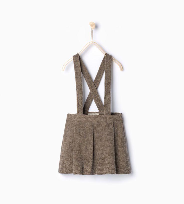 Skirt with braces-Skirts and Shorts-Girl-Kids | 4-14 years-KIDS | ZARA United States