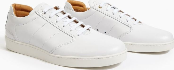 Want Les Essentiels White Leather Lennon Sneakers The Want Les Essentials De La Vie Leather Lennon™ Sneakers, seen here in white. - - These understated sneakers from Want Les Essentials De La Vie are crafted to the highest standard from premium leath http://www.comparestoreprices.co.uk/january-2017-6/want-les-essentiels-white-leather-lennon-sneakers.asp