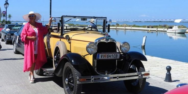 Ford A Convertible. 1931.
