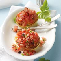 Kartoffel-Tomaten-Crostini