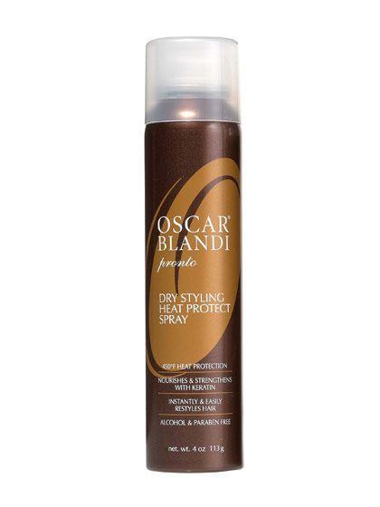 Oscar Blandi Pronto Dry Styling Heat Protect Spray | allure.com