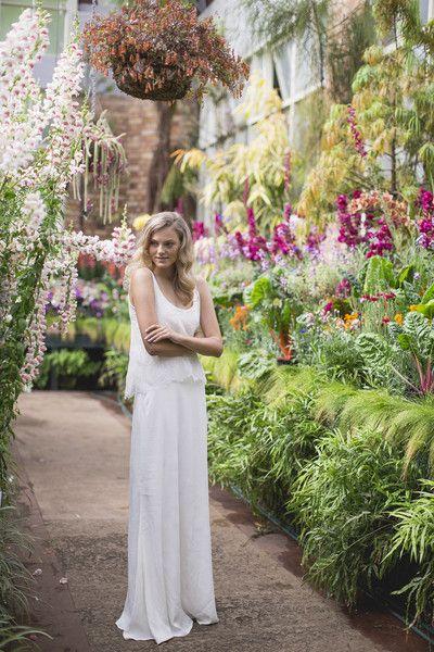 Céline Rita NZ Designer Bridesmaid Dresses Ivory Lace Bridal Wedding Wintergardens Auckland