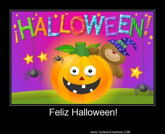Feliz Halloween!,   #CartelesCreativos #Desmotivaciones