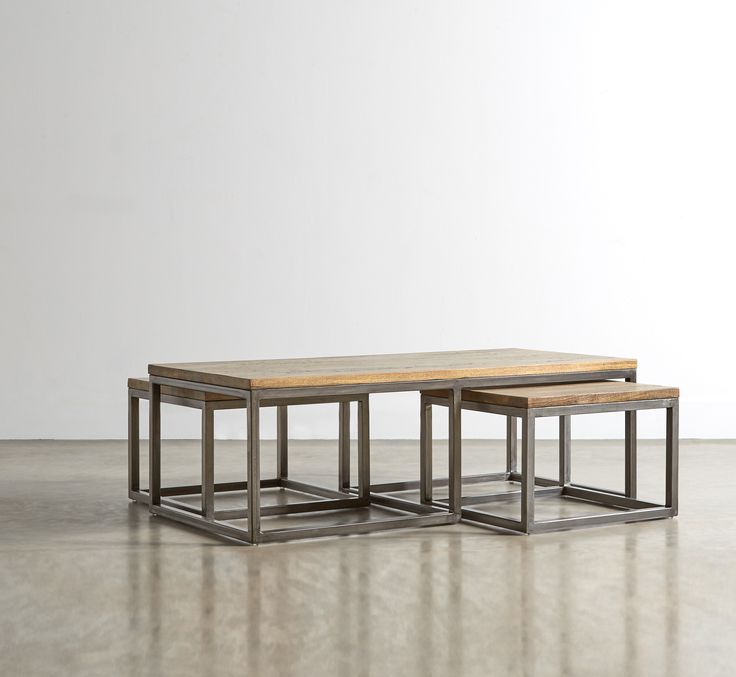 The SULLIVAN Coffee Table Set - in Mango Wood - Swoon Editions - swooneditions.com