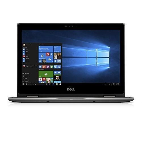 """Dell Inspiron i5378-2885GRY 13.3"""" FHD 2-in-1 Laptop (7th Generation Intel Core i5 8GB RAM 1TB HDD) Microsoft Signature Image"""