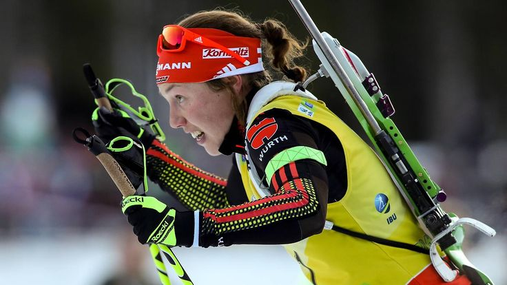 Biathlon-Triple in Pokljuka: Unschlagbare Dahlmeier sorgt für Staffelsieg