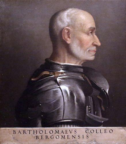 Giovan Battista Moroni. 1520-1578. Bergame. Portrait de Bartolomeo Colleoni…
