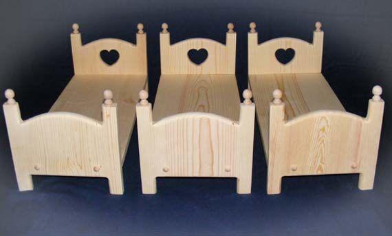 Triple stapelbed voor 18-20 inch-poppen 3 van Acraftersnook op Etsy