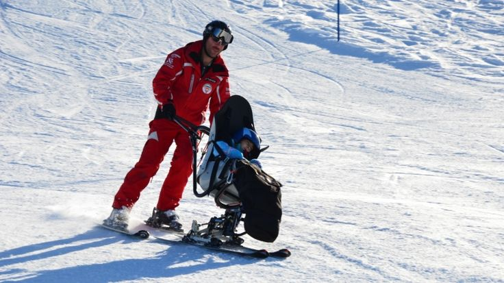 Dual Skibob - No limits trotz Handicap