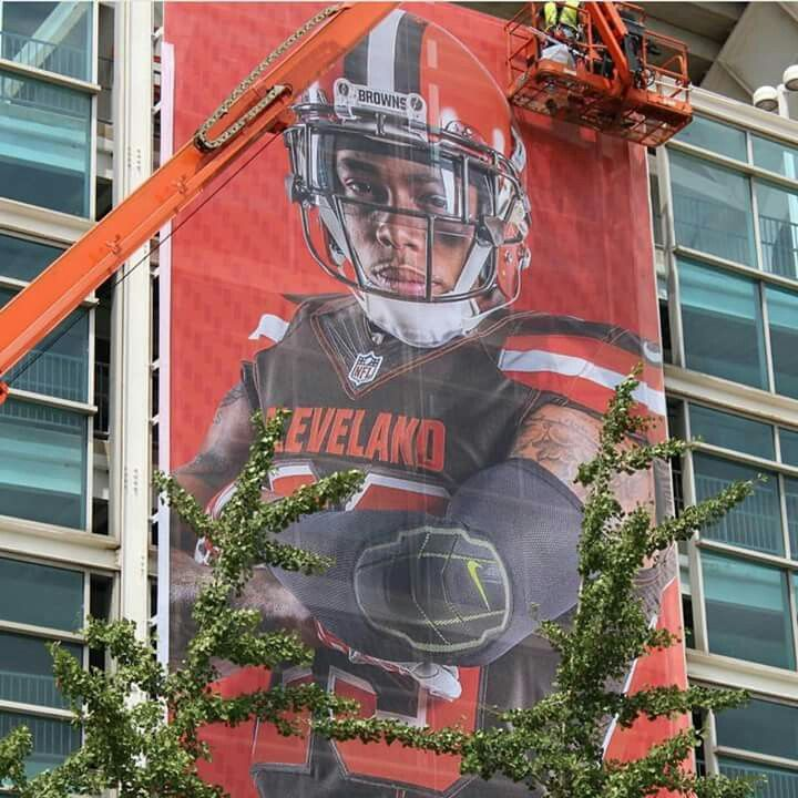Haden at First Energy Stadium! !  #Cleveland #Browns