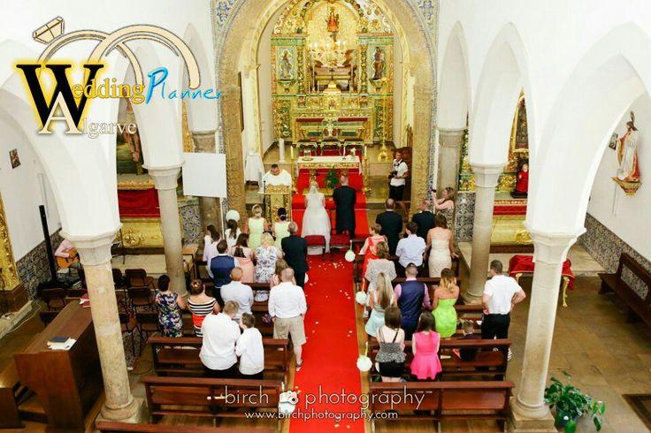 #algarve #portugal #church #wedding by www.weddingplanneralgarve.com