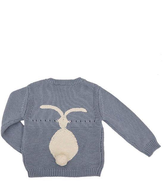 Stella McCartney Kids Age 1M to 3YR Blue Thumper Bunny Top