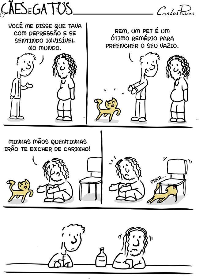 Cães e Gatos – É um ótimo remédio, eles disseram…