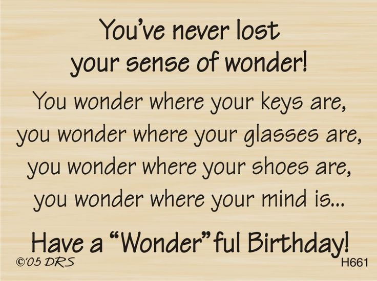 Sense of Wonder Birthday Greeting