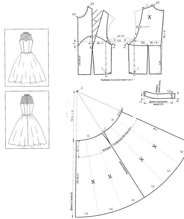 выкройка-платье-с-американской-проймой